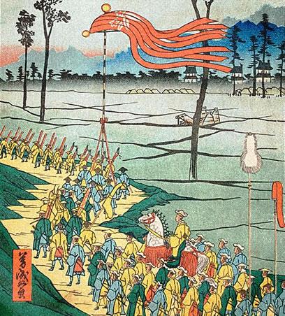 14代将軍徳川家茂(とくがわいえもち)の上洛