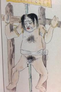 天誅の犠牲者 猿の文吉(ましらのぶんきち)