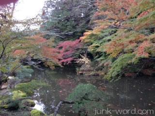 成田山公園紅葉(文殊の池)