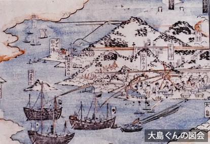 大島口の戦い 第二次長州征伐(四境戦争)