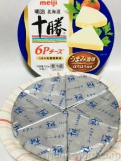 明治北海道十勝 6Pチーズカロリー・栄養素