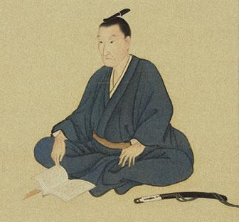 松浦松洞が描いた吉田松陰肖像画