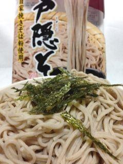 戸隠そば(蕎麦)カロリー