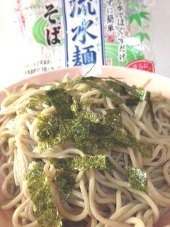流水麺(りゅうすいめん)そば(蕎麦)カロリー