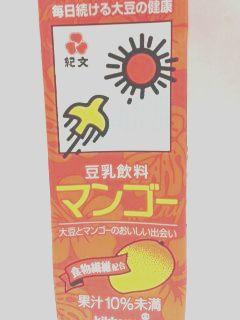紀文豆乳カロリー マンゴー