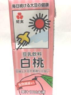 紀文豆乳カロリー 白桃