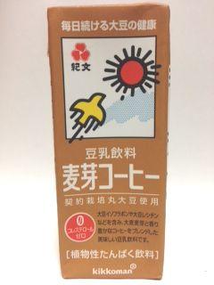 紀文豆乳カロリー 麦芽コーヒー