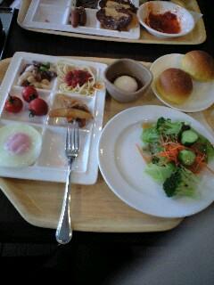 旅行3日目の朝食