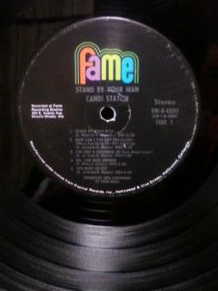 CANDI STATON(キャンディ.ステイトン)「Stand By Your Man」アナログレコード