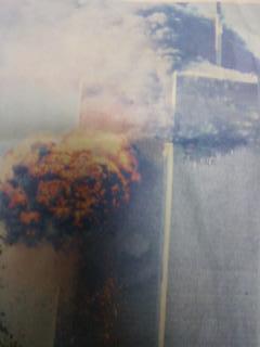 悪魔の顔衝撃写真 9.11テロ