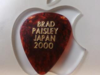 ブラッド.ペイズリー(BRAD PAISLEY)、ギターピック