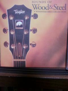 ヴァリアス.アーティスツのアナログレコード「SOUNDS OF WOOD & STEEL A WINDHAM HILL COLLECTION」
