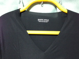 BODY WILD ビズカットシャツ 黒