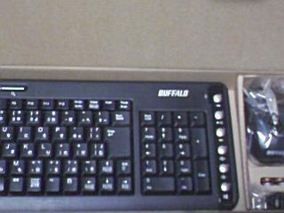 BUFFALO  ワイヤレスキーボード マウスセット