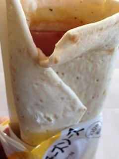 ラップス 厚切りハム&チーズソース中身 ローソン