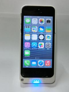ios7対応 iPhone5 バッテリーケース