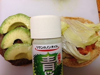ハンバーガーレシピ アボカド4
