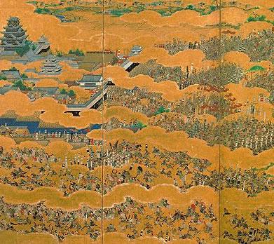 大坂夏の陣図屏風(おおさかなつのじんずびょうぶ)