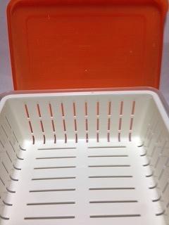 水切りヨーグルト作り方 容器を用意する