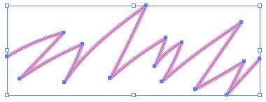 イラストレーターCC「パス消しゴムツール」消去するオブジェクトを選択