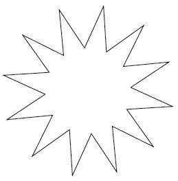 イラストレーターCC「スターツール」点の数を増減