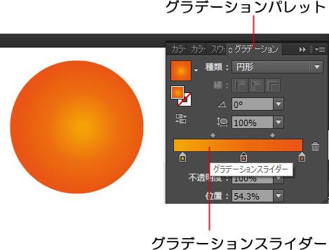 イラストレーターCC グラデーションスライダーが出ないときの対処法